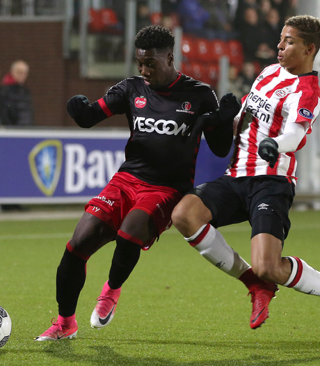 Verzwakt Helmond Sport stunt bij Jong PSV
