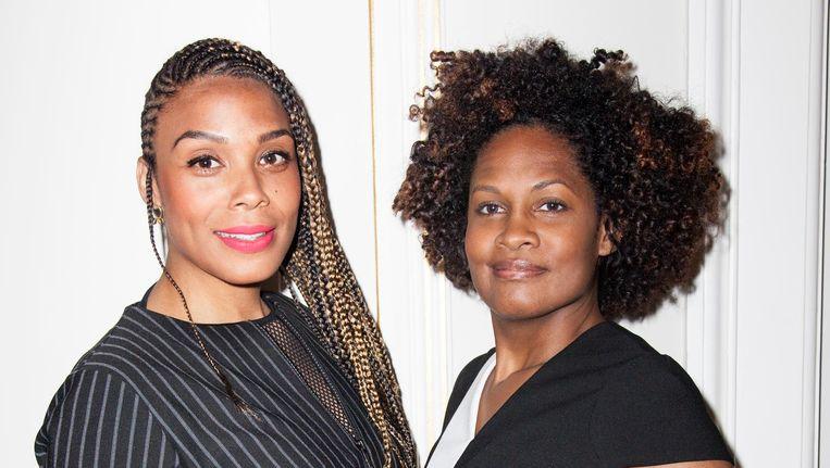 Samora Bergtop (l) en Ellen Tjon A Meeuw, oprichters van Well Made Productions. Beeld Linda Stulic