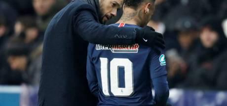 PSG maakt zich zorgen om huilende Neymar