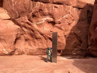 """Mysterie stalen monoliet blijft onopgelost na vinden van locatie in woestijn in Utah: """"Maar niet het werk van aliens"""""""
