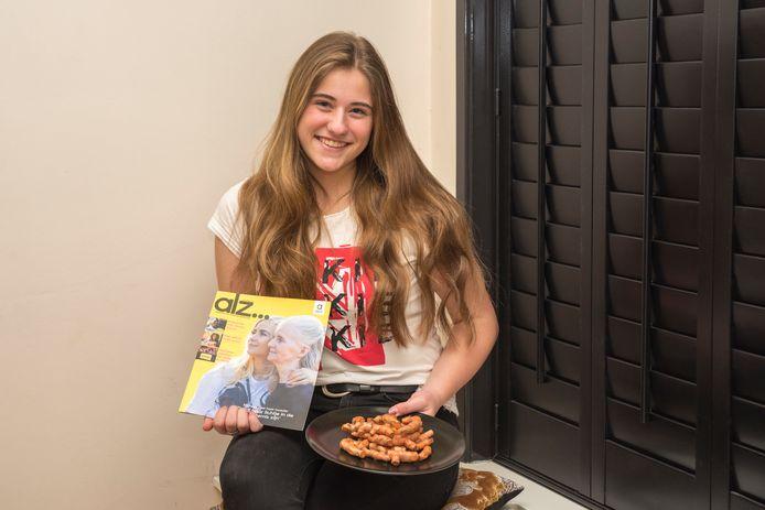 Luna gaat dinsdag koken voor Alzheimer Nederland in Winebar Gris Sec