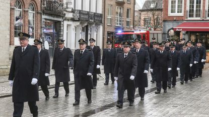 Dendermondse brandweer viert Sint-Barbara