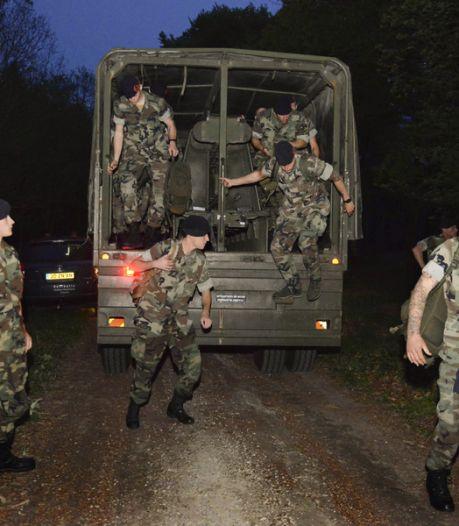 Mariniers zoeken weer tussen Rhenen en Doorn