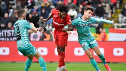 Antwerp en Charleroi houden het op 1-1 na twee gemiste strafschoppen