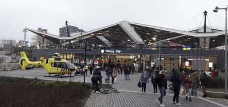 Traumahelikopter landt bij Station Tilburg, treinverkeer ligt tijdelijk stil