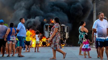 Braziliaanse regering zet soldaten in om rellen in Fortaleza te beteugelen
