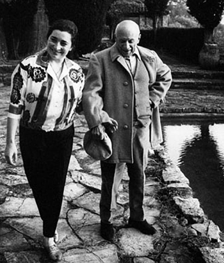 Na de dood van Picasso's tweede vrouw, Jacqueline Roque, in 1986 stond het huis dertig jaar lang leeg.