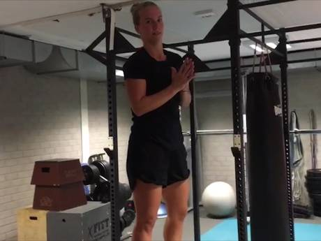 Richel Hogenkamp vlogt: Pittige trainingen voor het WTA-toernooi