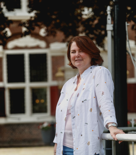 Een Disney-fan met haar eigen kasteelsleutel in Willemstad