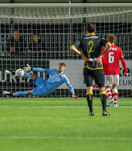 En weer is er treurnis bij FC Den Bosch op maandagavond