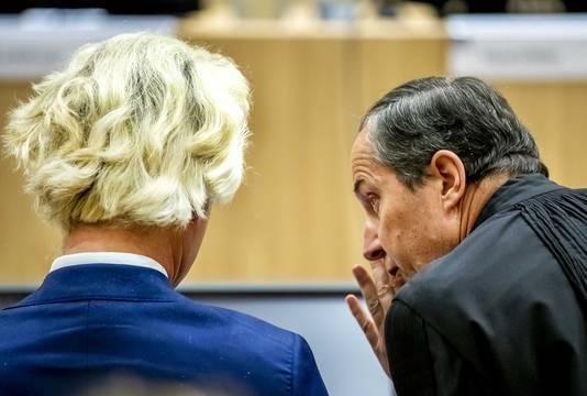 Geert-Jan Knoops en Geert Wilders