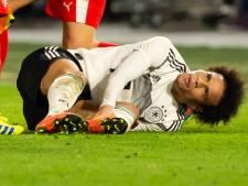 Sané en Duitsland halen opgelucht adem: schade aan enkel valt mee