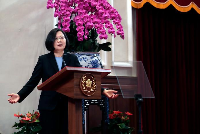 Tsai Ing-wen, la présidente de Taïwan