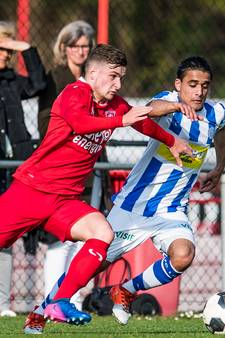 Geen derby's voor Jong FC Twente in derde divisie zaterdag