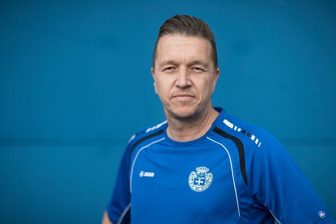 Voetbal, Be Quick trainer Bjorn Rutten.