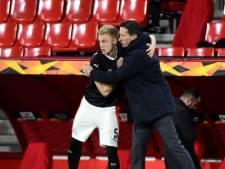 Roger Schmidt vindt dat PSV verdiend door is: 'Een verrassing na een moeilijke situatie'