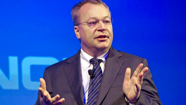 Stephen Elop Beeld EPA
