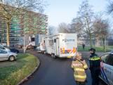 Bewoners voeren actie voor veiligere flats op Gelderseplein in Arnhem na fatale flatbrand