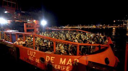 Spaanse kustwacht redde dit weekend 1200 migranten op zee
