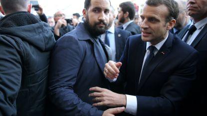 """Elysée beschuldigt Benalla, ex-veiligheidsmedewerker van Macron, van """"reeks onwaarheden"""""""