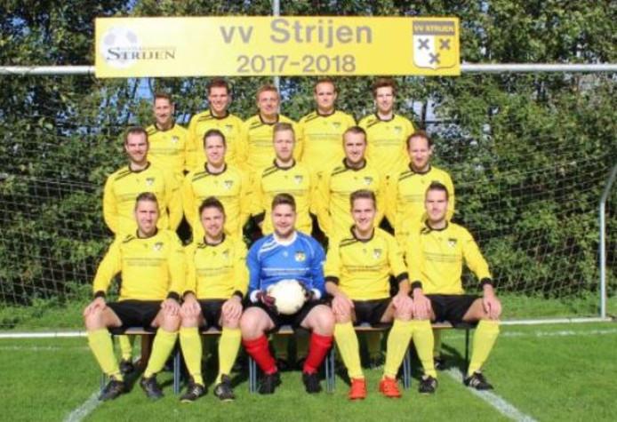 Het vijfde voetbalelftal van vv Strijen.