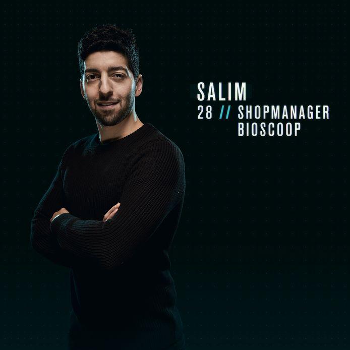 'De Mol'-afvaller Salim.