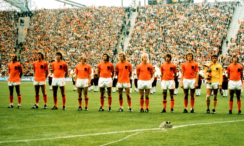 Oranje in 1974.