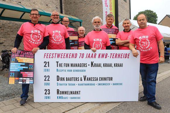 In Terheide vieren ze feest dit weekend: de KWB bestaat 70 jaar