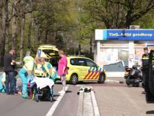 Motorrijder gewond geraakt bij ongeval in Maarsbergen, ambulance heeft pech