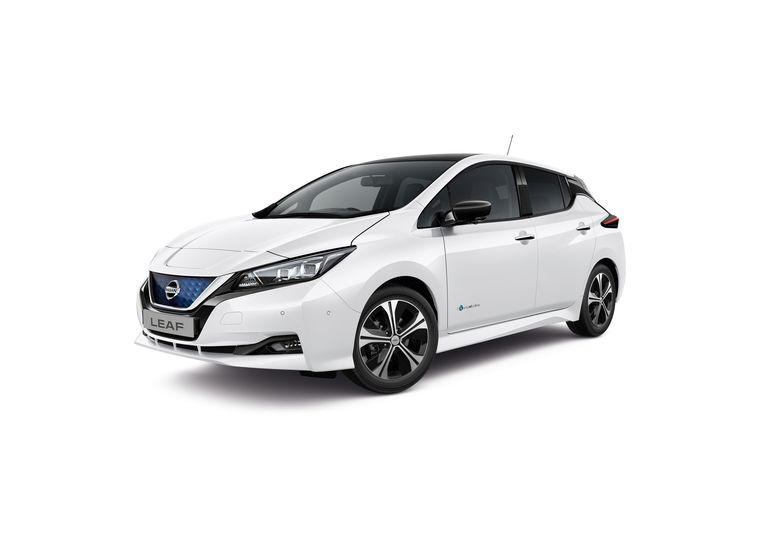 Nissan Leaf. Beeld Nissan