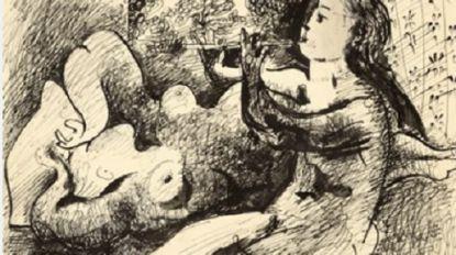 MOMA veilt tekening van Picasso in Parijs