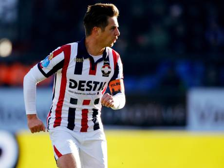 Jordens Peters mist bekerduel Willem II door blessure