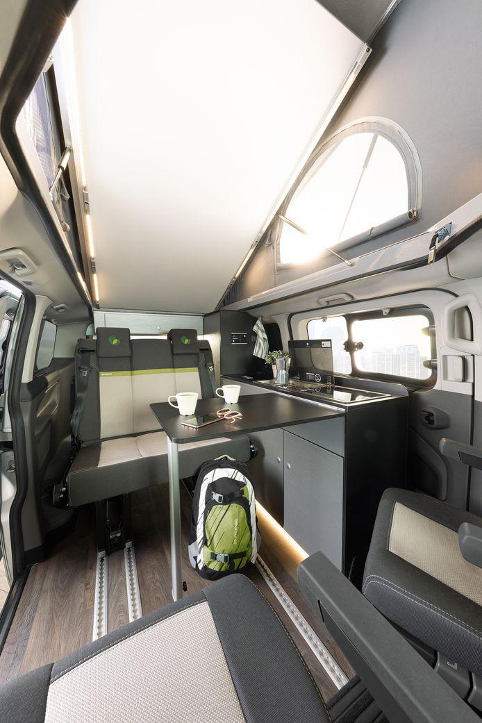 Dethleffs Globevan plug-in hybride.
