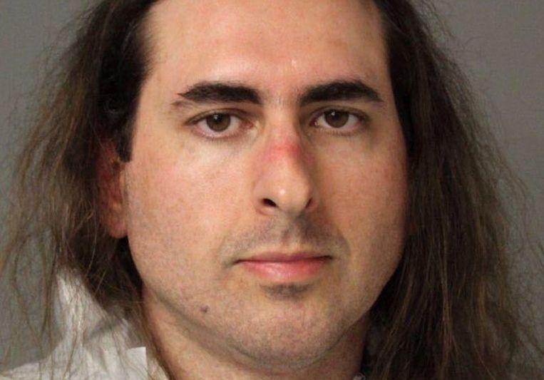 Jarrod Ramos, de schutter die donderdag in Annapolis vijf medewerkers doodde van de  Capital Gazette.   Beeld null