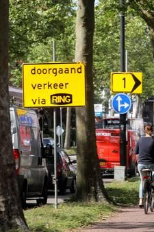 Eindhovense wegen slibben dicht