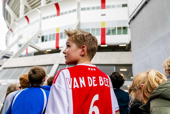 Een fan van Donny van de Beek.