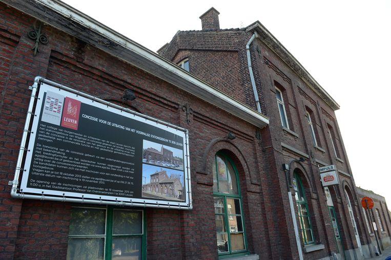 In 2013 schreef de stad Leuven een concessie uit voor het stationsgebouw van Wijgmaal, maar die oproep had geen succes.