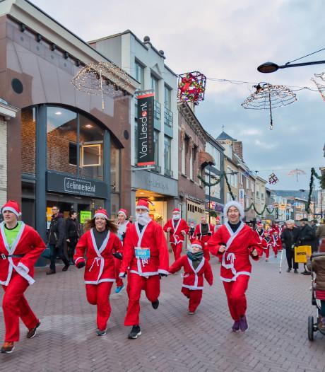 Santa Run Oosterhout: 'Het is zo leuk om in een kerstmannenpak te rennen'