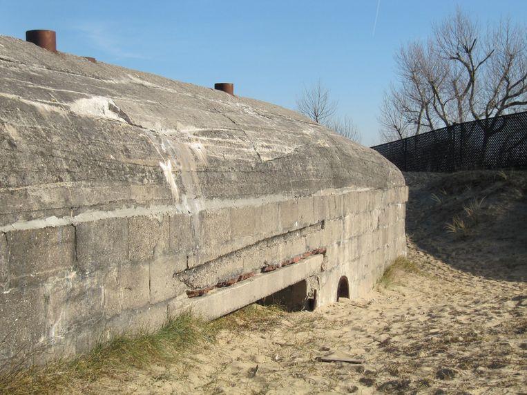 Bunker Steunpunt Panther in Koksijde.