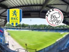 Boekt RKC tegen ongeslagen Ajax eerste zege?