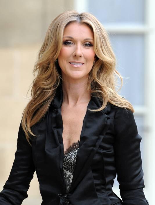 Celine Dion op een doordeweekse dag.