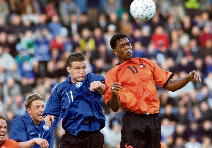 In 2001 won Oranje nipt met 2-4 van Estland.