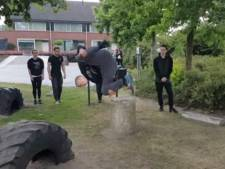 Freerunpark geopend in Baarle-Nassau