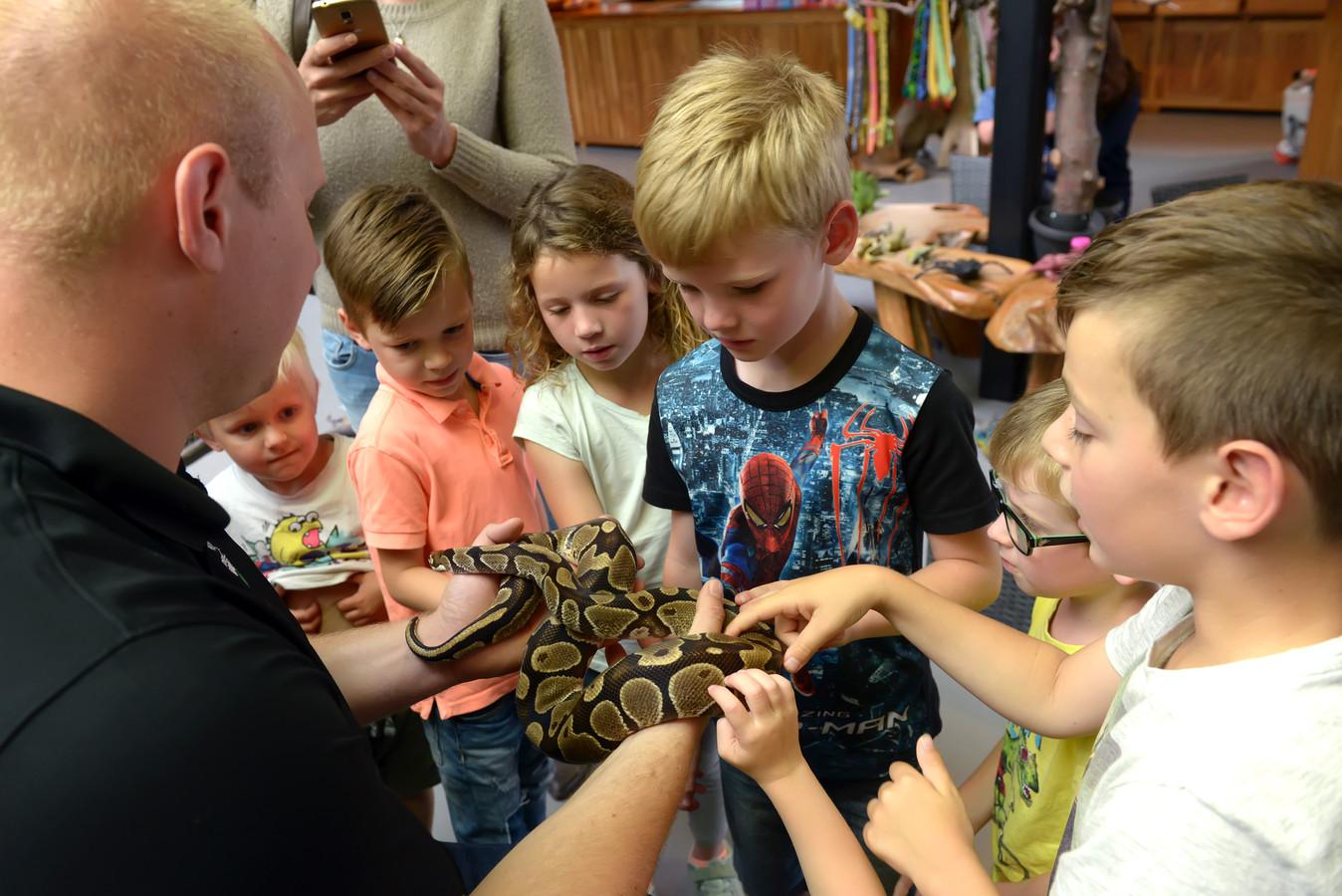 Reptielenhuis De Aarde in Breda wordt op Tripsadvisor in West-Brabant best gewaardeerd.
