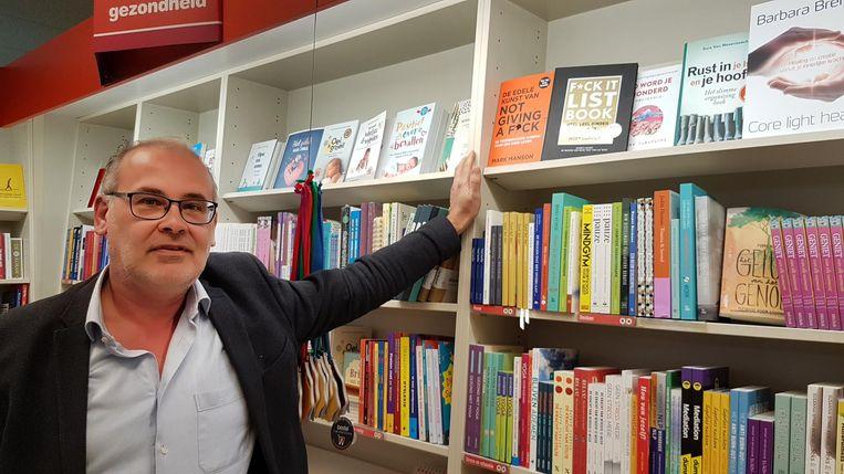 Lokaal ondernemer Patrick Melis van Standaard Boekhandel.