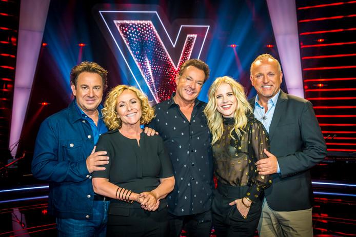 De coaches van The Voice Senior