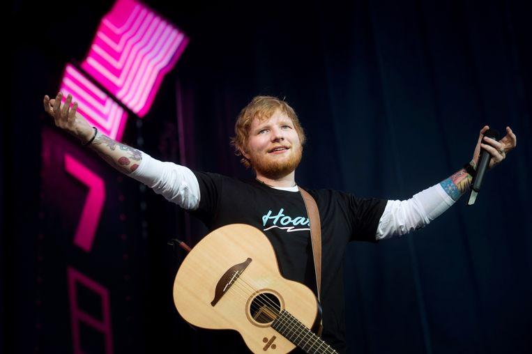 Ed Sheeran verloor de voorbije maanden heel wat kilo's.