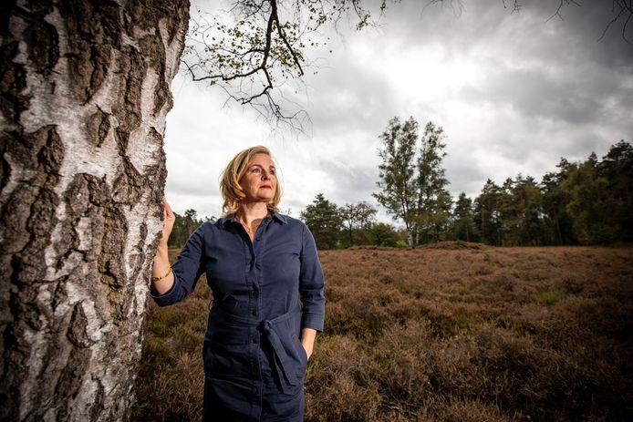 Marike Bezema op Het Lutterzand, de rode draad in haar leven.