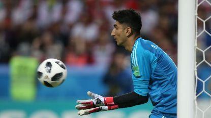 Het inspirerende verhaal van Iraanse doelman: van slapen op straat tot een duel op het WK met Cristiano Ronaldo