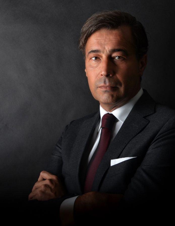 Eddy Droste, voorzitter van Stevo.